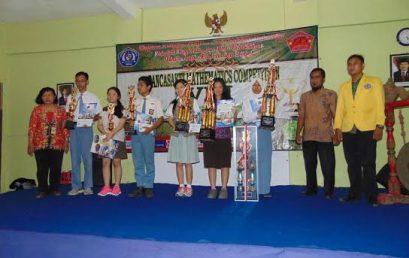 Prodi PMtk FKIP Adakan Pancasakti Mathematics Competition