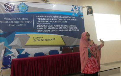 Workshop Penulisan Artikel Ilmiah Program Studi Pendidikan Matematika