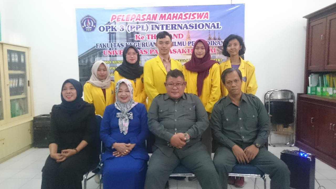 Pelepasan Mahasiswa OPK 3 (PPL) INTERNATIONAL ke Thailand