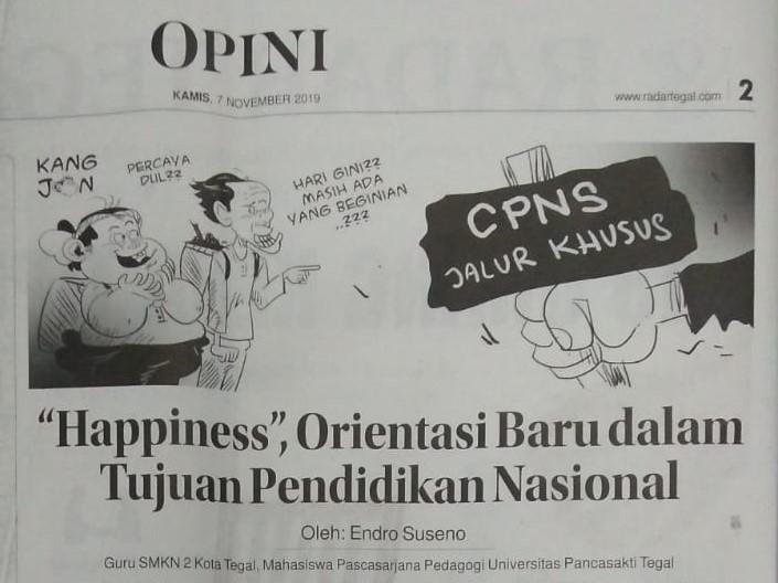 """""""Happiness"""", Orientasi Baru Dalam Tujuan Pendidikan Nasional (Part I)"""